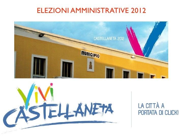 Elezioni Amministrative Castellaneta 2012