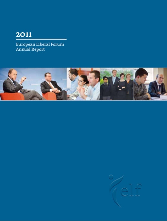 Annual Report 2011 - European Liberal Forum