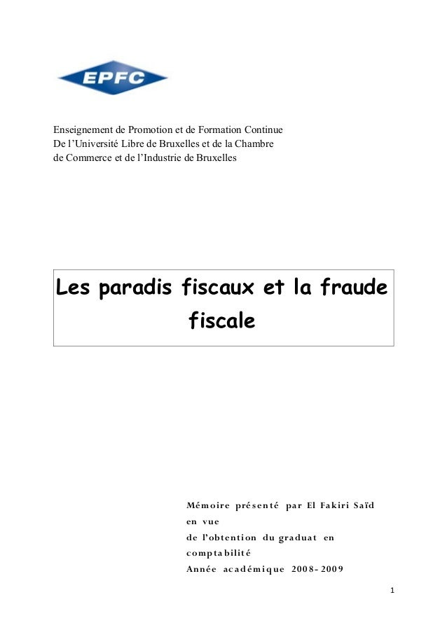 Enseignement de Promotion et de Formation ContinueDe l'Université Libre de Bruxelles et de la Chambrede Commerce et de l'I...