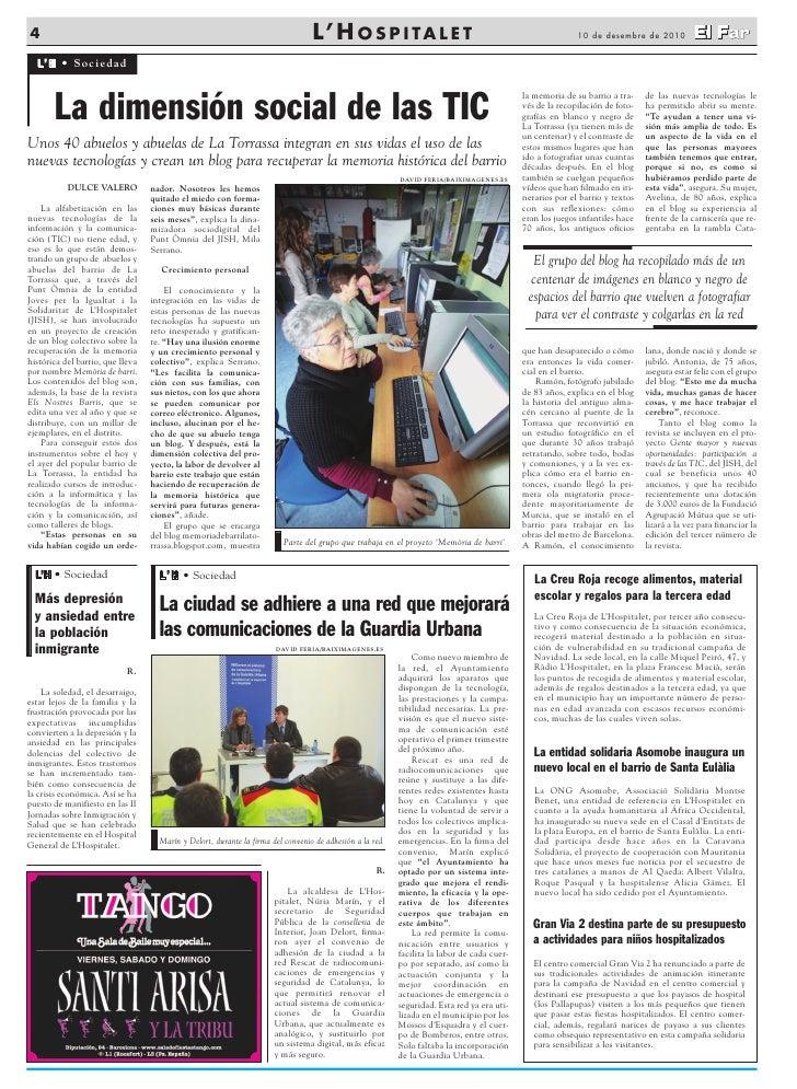 El Far 10/12/2010: Impacte a la premsa local