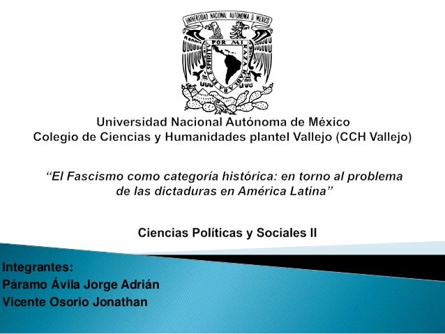 Integrantes: Páramo Ávila Jorge Adrián Vicente Osorio Jonathan