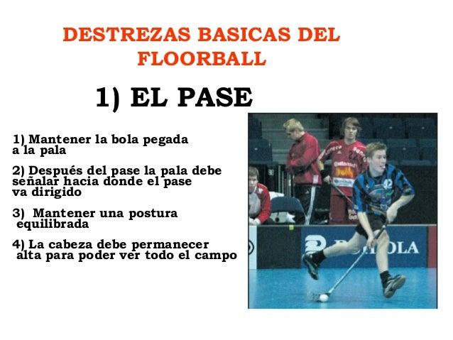 El floorball - Con la contrasena puedo sacar el pase ...