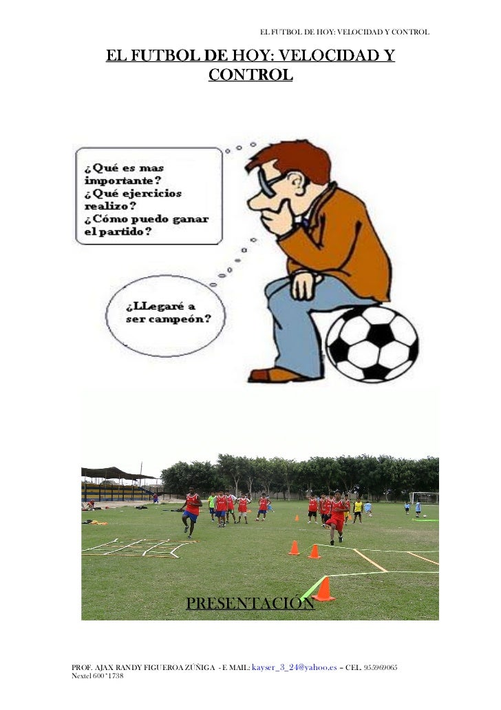 El futbol de hoy