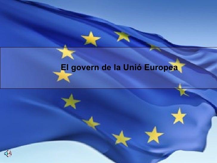 El govern de la Unió Europea
