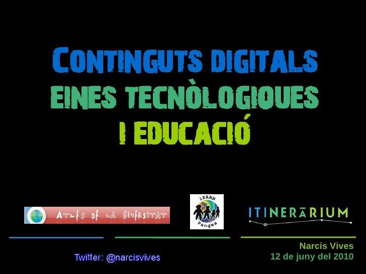 Continguts digitals