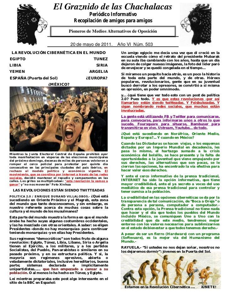 El Graznido de las Chachalacas                             0                                                Periódico Info...