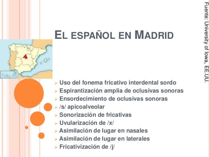 El Español en Madrid