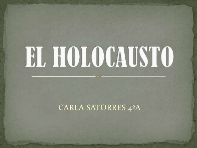 CARLA SATORRES 4ºA