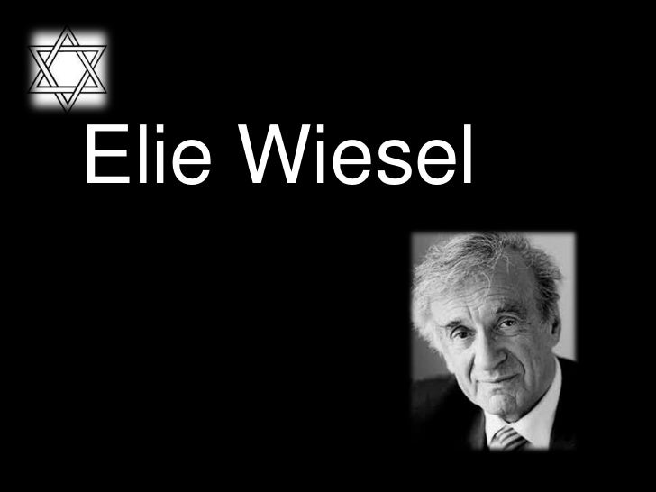 an analysis of the religious views of elie wiesel Holocaust survivor, nobel laureate and author elie wiesel has died  wiesel  spoke out for victims of war and political tyranny around the world.