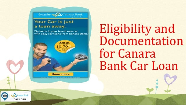 Canara Bank Car Loan