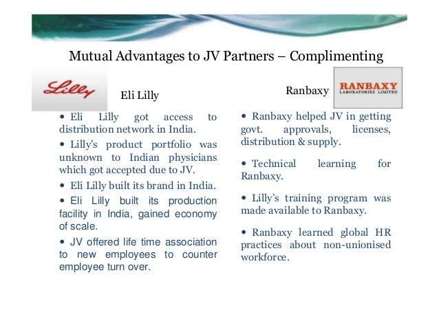 eli lilly ranbaxy case project