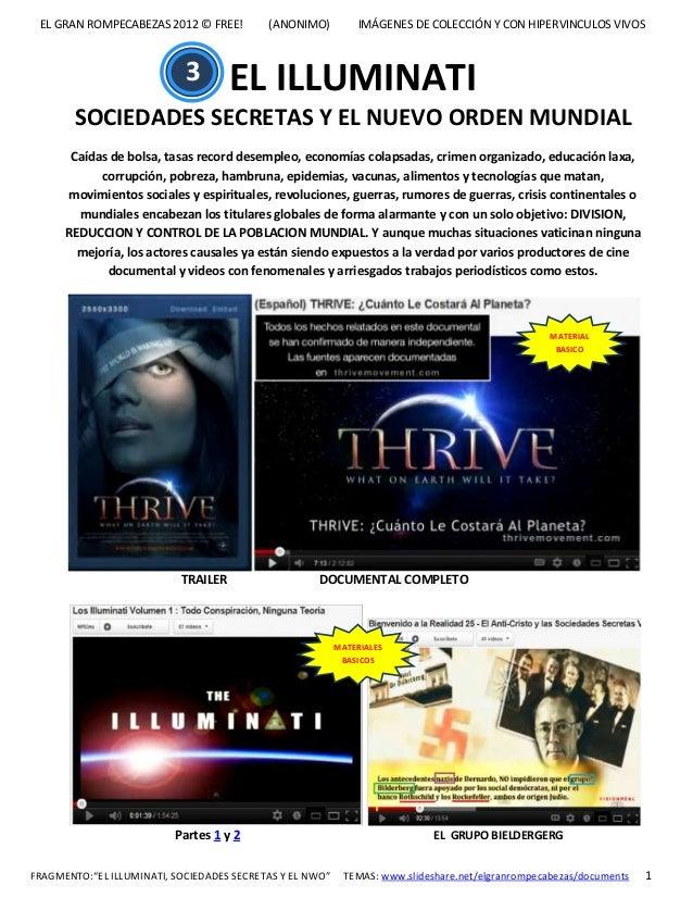 3_El Illuminati_Sociedades Secretas y el NWO_El Gran Rompecabezas