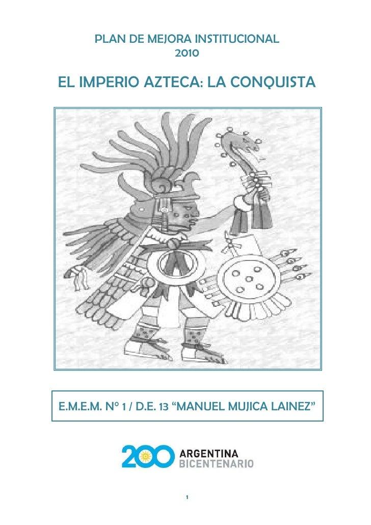 el imperio azteca la conquista
