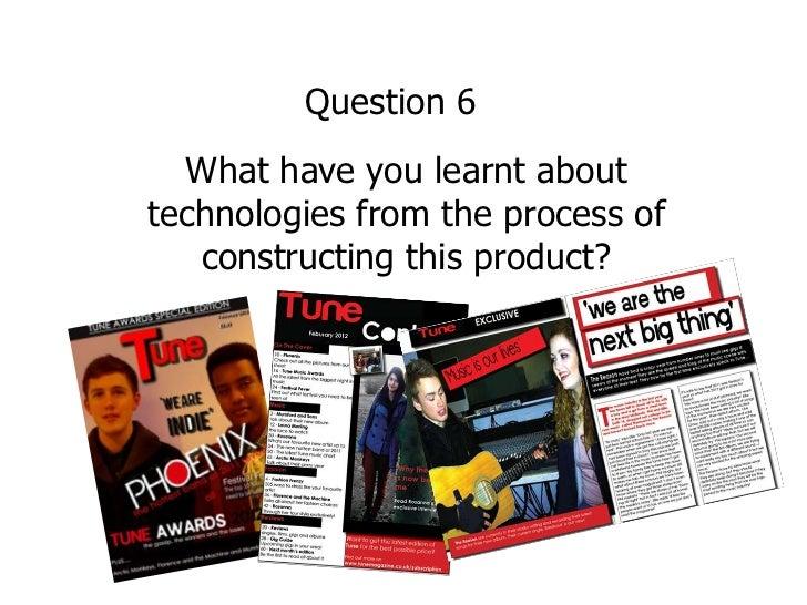 Elin media evaluation  question 6 2