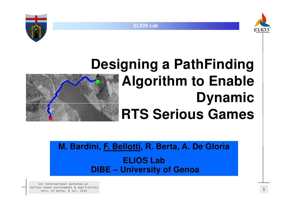 International Workshop on Serious Games Development and Applications