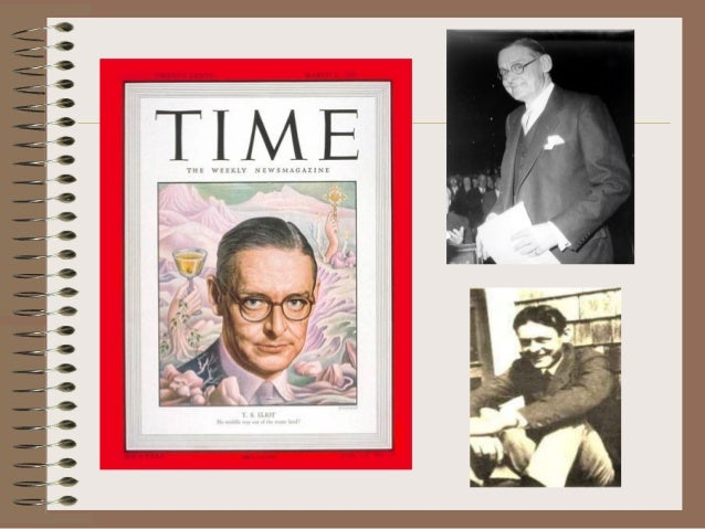 a brief biography of thomas stearns eliot Thomas stearns eliot was born on sept 26, 1888, in st louis, missouri his  father, henry ware eliot, was president of the hydraulic-press.