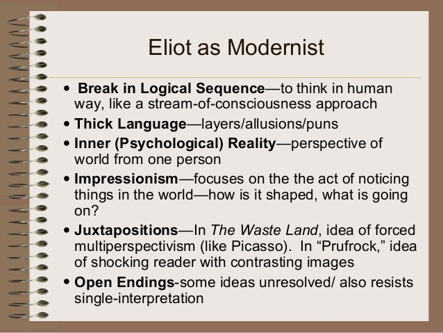 "essays on the love song of j alfred prufrock To what extent can this quotation from 'the love song of jalfred prufrock' be  said to summarize the poem"" the ambiguity that eliot."