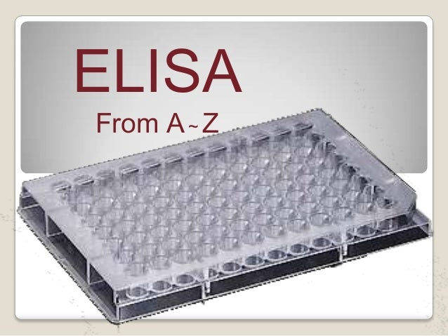 ELISA From A~Z