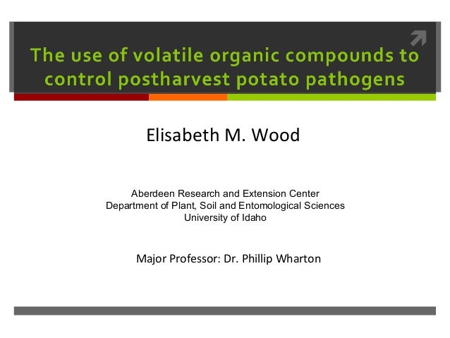         Elisabeth M. Wood     Aberdeen Research and Extension CenterDepartment of Plant, Soil and Entomological Sciences ...