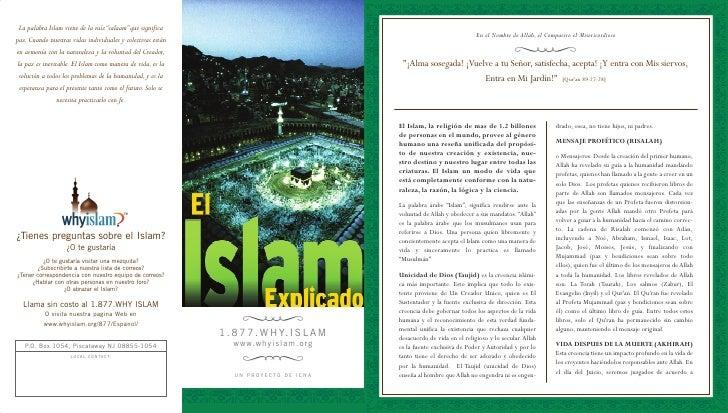 El Islam Explicado  Spanish