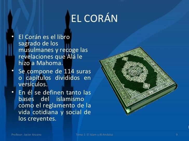 Tema 1 el islam y al andalus - Que es el corian ...