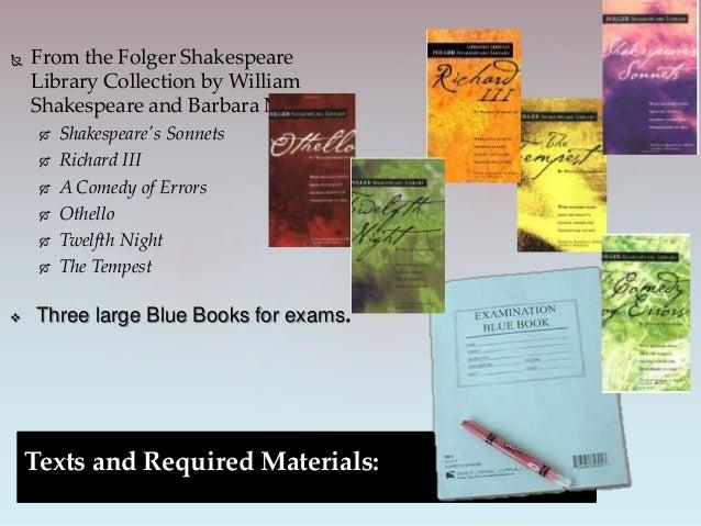 shakespearean essay