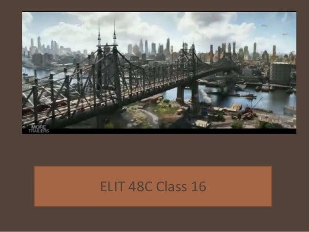 ELIT 48C Class 16