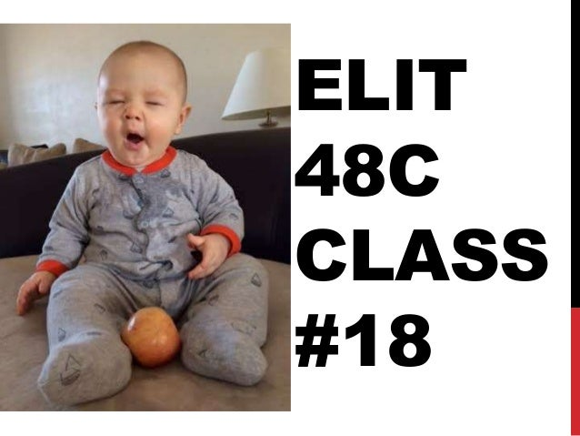 ELIT 48C CLASS #18 Disinterested or Uninterested?