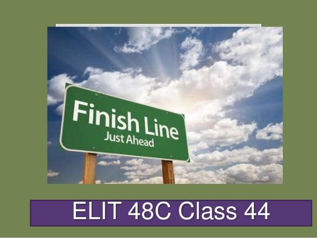ELIT 48C Class 44