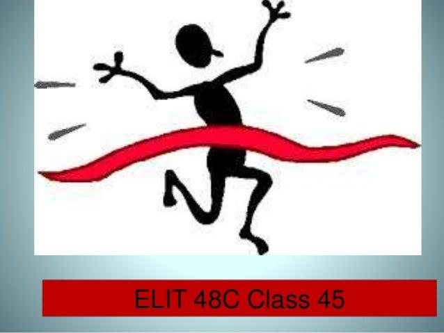 ELIT 48C Class 45