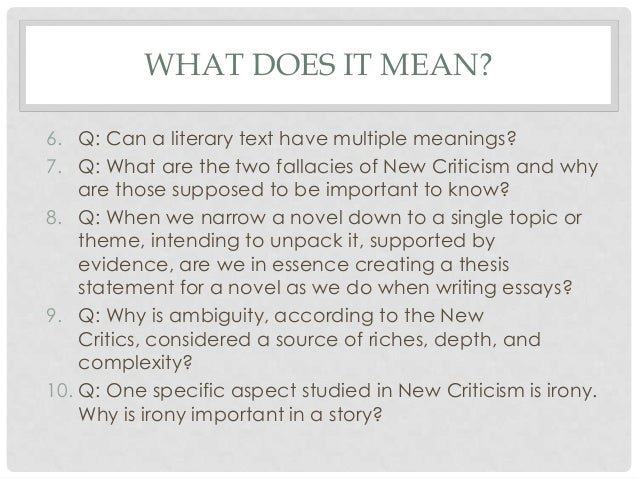 new critical thesis New students financial the critical review is a writing task that asks you to summarise and evaluate a text the critical review can be of a book, a chapter.