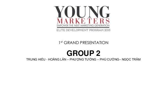 1st GRAND PRESENTATION  GROUP 2 TRUNG HIẾU - HOÀNG LÂN – PHƯỢNG TƯỜNG – PHÚ CƯỜNG– NGỌC TRÂM