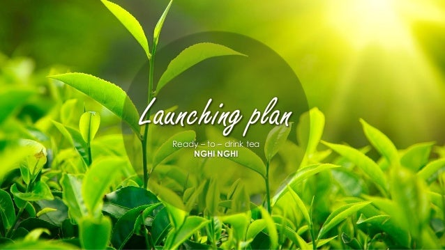 Ready – to – drink tea NGHI NGHI Launching plan