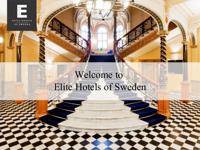 Welcome to  Elite Hotels of Sweden