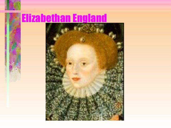 Elizabethan England