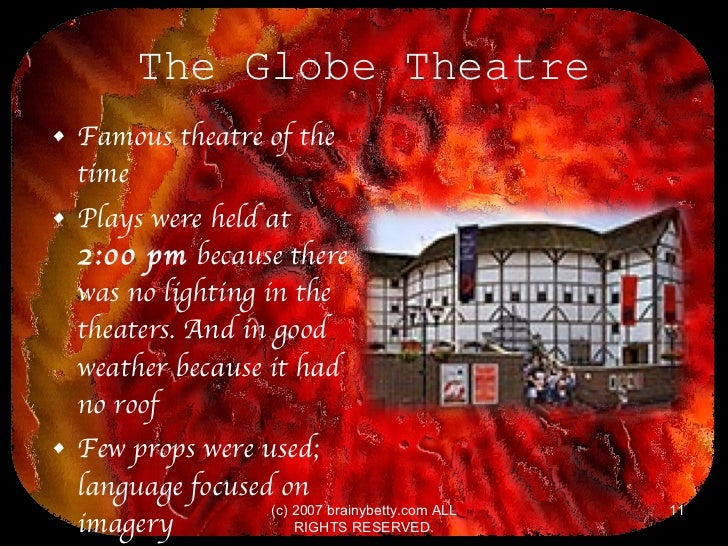 Elizabethan Theatre Essay - 1151 Words - Bartleby