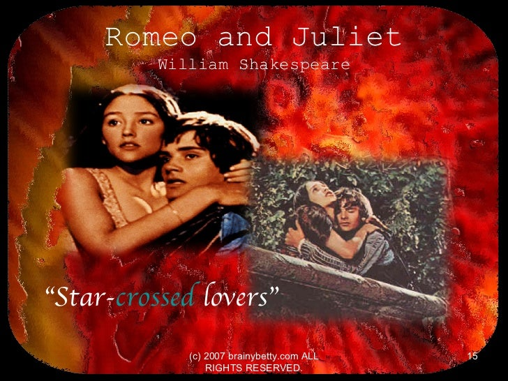 an analysis of romeo in shakespeares romeo and juliet Romeo and juliet essay  (this could also broaden shakespeare's range of audience) romeo shows his heart break and depression  romeo&juliet analysis romeo.
