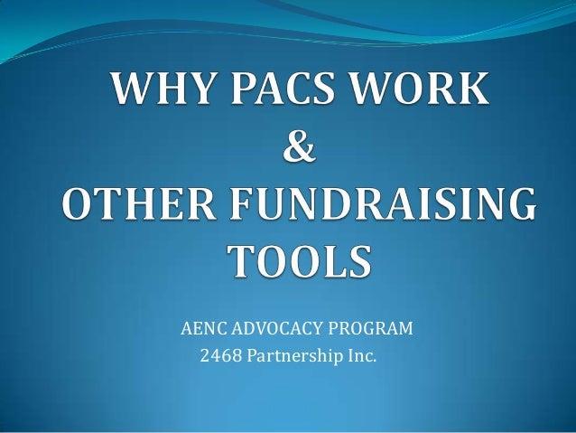 AENC ADVOCACY PROGRAM  2468 Partnership Inc.