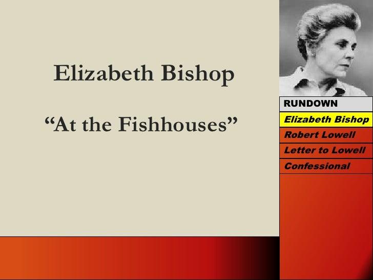 Elizabeth Bishop And Robert Lowell