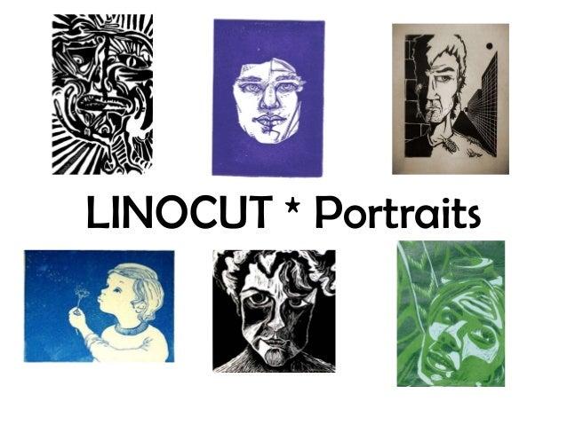 Linocut Portraits