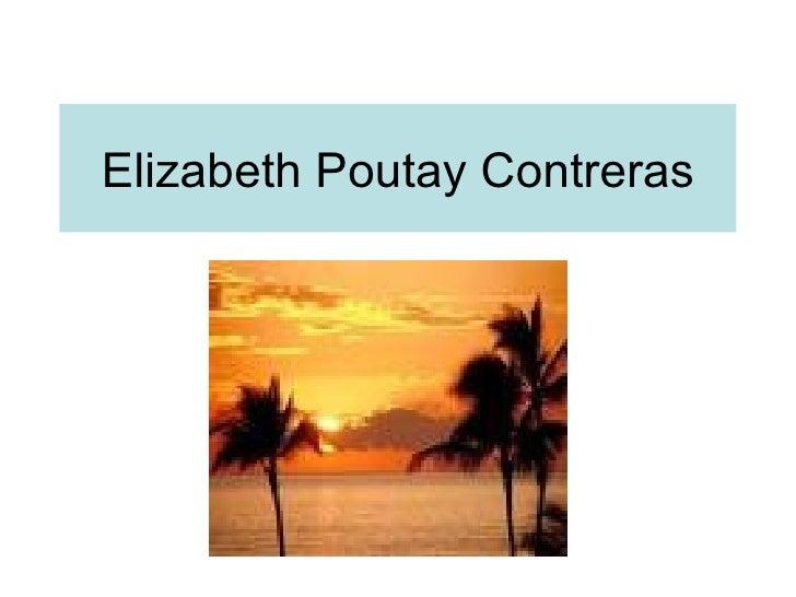 Elizabeth Poutay Contreras