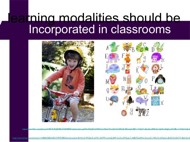 Learning Modalities in the Classroom