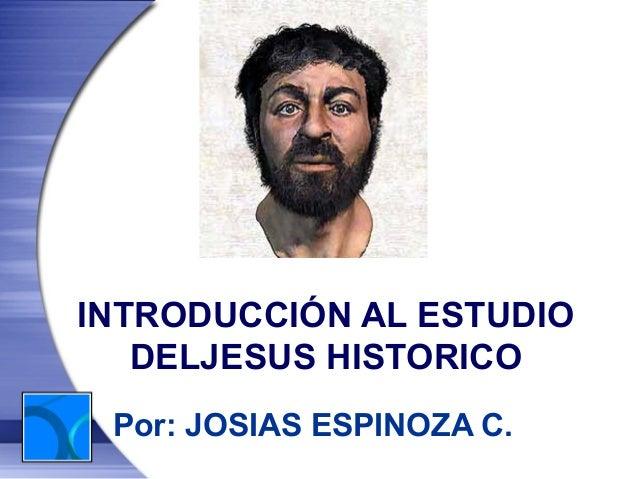El jesus histórico
