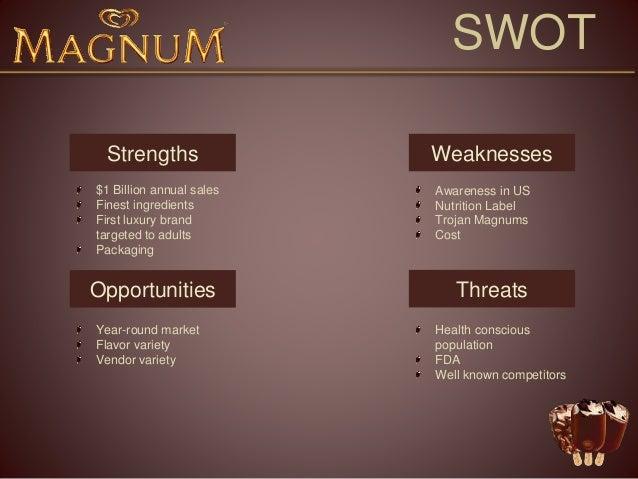 Advertising Magnum Ice Cream Presentation