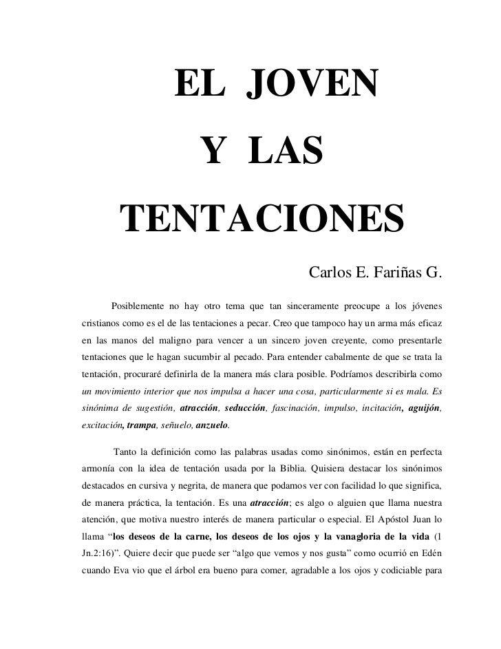 EL JOVEN                             Y LAS         TENTACIONES                                                        Carl...