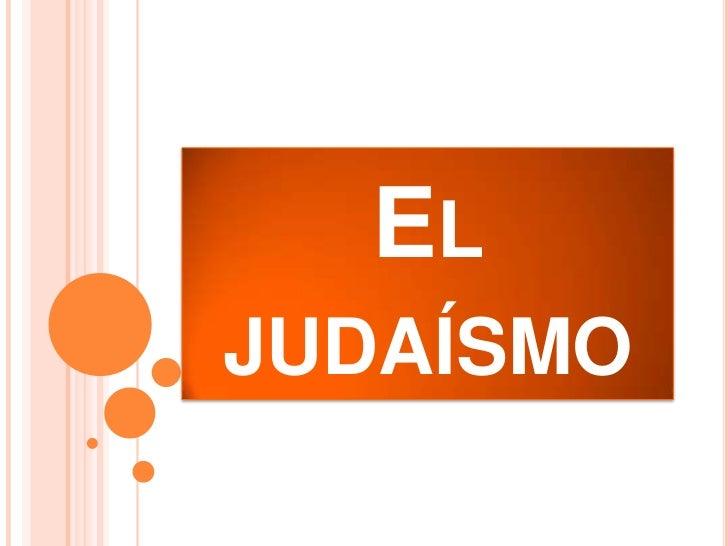 ELJUDAÍSMO