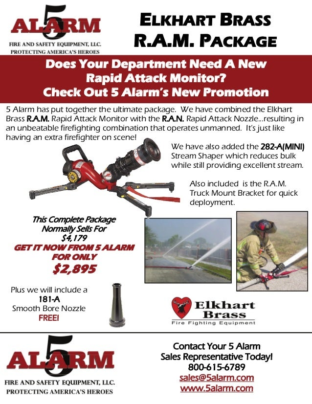 ELKHART BRASS                                   R.A.M. PACKAGE          Does Your Department Need A New                Rap...