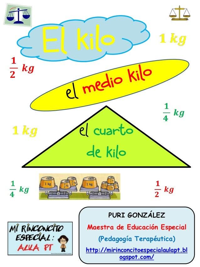 El kilo mediokilo cuarto de kilo for Un cuarto de kilo