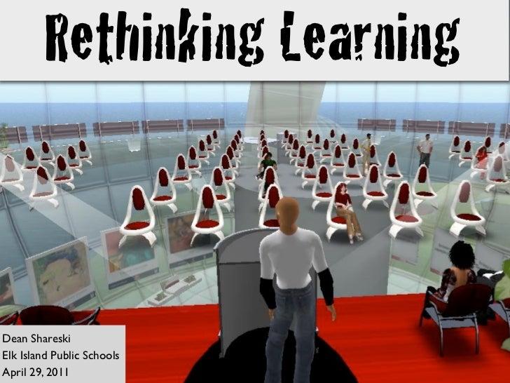 Rethinking Learning