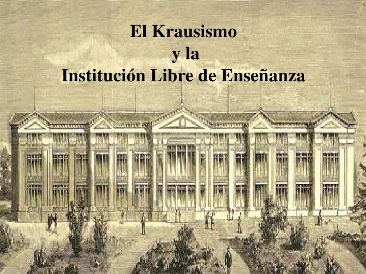 Resultado de imagen de institucion libre de enseñanza